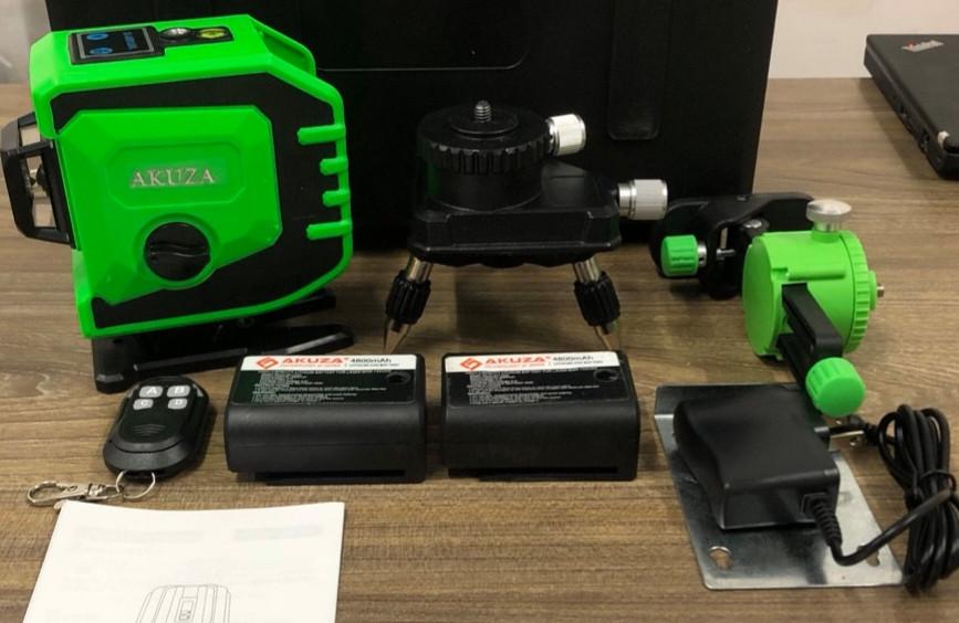 Máy cân bằng laser Akuza 12 tia
