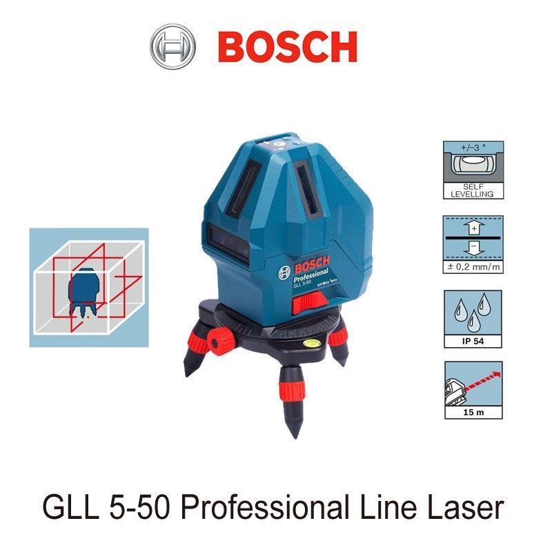 Máy cân mực Bosch GLL 5-50